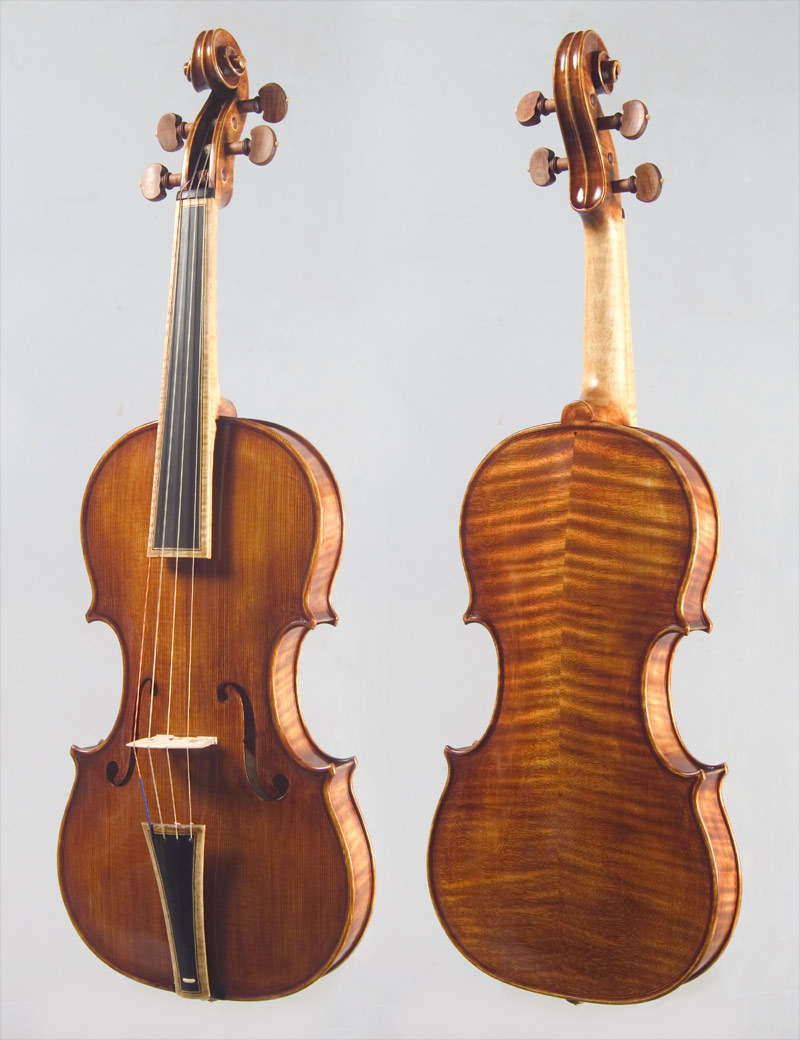 Baroque Violin inspired by Nicolo Amati 1656 A.Andreev 2008